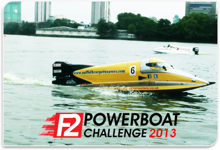 Advance Baggage - Exclusive Promoter of F2 Powerboat Challenge 2013 (Beira Lake)